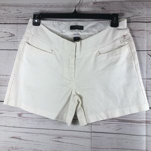 The limited  chino dress shorts white Stretch new